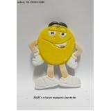 M&M's ΚΙΤΡΙΝΟ ΚΕΡΑΜΙΚΟ ΜΑΓΝΗΤΑΚΙ χονδρική τιμή ΤΖΑ-990094/41080