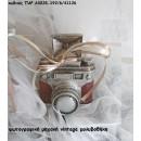ΦΩΤΟΓΡΑΦΙΚΗ ΜΗΧΑΝΗ VINTAGE ΜΟΛΥΒΟΘΗΚΗ ΓΙΑ ΜΠΟΜΠΟΝΙΕΡΕΣ ΒΑΠΤΙΣΗΣ - ΔΩΡΑ ΠΑΡΤΥ - ΕΟΡΤΩΝ - ΓΕΝΝΗΣΗΣ χονδρική τιμή ΠΑΡ-Α0028-192/6/41126