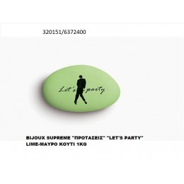 "BIJOUX SUPREME ""ΠPOTAΣEIΣ"" ""LET'S PARTY"" LIME-MAYPO KOYΦΕΤΑ ''ΧΑΤΖΗΓΙΑΝΝΑΚΗ'' 1KG 320151/6372400"