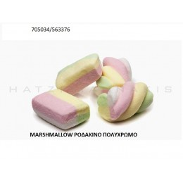 MARSHMALLOW POΔAKINO ΠOΛYXPΩMO ''ΧΑΤΖΗΓΙΑΝΝΑΚΗΣ'' 1KG 705034/563376