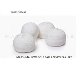 MARSHMALLOW GOLF BALLS ΛEYKO ''ΧΑΤΖΗΓΙΑΝΝΑΚΗΣ'' 1KG 70523/568452