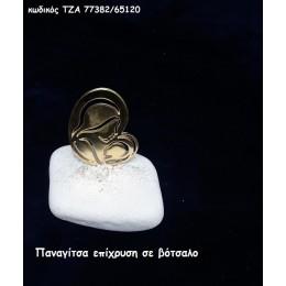 ΠΑΝΑΓΙΤΣΑ ΕΠΙΧΡΥΣΗ ΣΕ ΒΟΤΣΑΛΟ για μπομπονιέρες - δώρα χονδρική τιμή ΤΖΑ 77382/65120