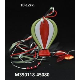 ΑΕΡΟΣΤΑΤΟ κεραμικό μαγνητάκι ψυγείου 10-12εκ. χοντρική τιμή Μ390118-45080