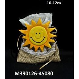 ΗΛΙΟΣ κεραμικό μαγνητάκι ψυγείου 10-12εκ. χοντρική τιμή Μ390126-45080