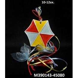 ΧΑΡΤΑΕΤΟΣ κεραμικό μαγνητάκι ψυγείου 10-12εκ. χοντρική τιμή Μ390143-45080