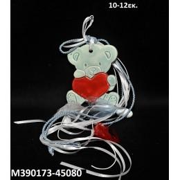 ΑΡΚΟΥΔΑΚΙ κεραμικό μαγνητάκι ψυγείου 10-12εκ. χοντρική τιμή Μ390173-45080