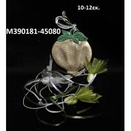 ΡΟΔΙ κεραμικό μαγνητάκι ψυγείου 10-12εκ. χοντρική τιμή Μ390181-45080