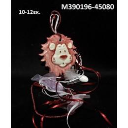 ΛΙΟΝΤΑΡΙ κεραμικό μαγνητάκι ψυγείου 10-12εκ. χοντρική τιμή Μ390196-45080