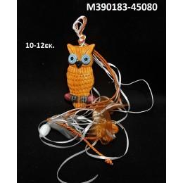 ΚΟΥΚΟΥΒΑΓΙΑ ΜΠΟΜΠΟΝΙΕΡΑ κεραμικό μαγνητάκι ψυγείου 10-12εκ. χοντρική τιμή Μ390183-45080