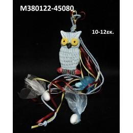 ΚΟΥΚΟΥΒΑΓΙΑ ΜΠΟΜΠΟΝΙΕΡΑ κεραμικό μαγνητάκι ψυγείου 10-12εκ. χοντρική τιμή Μ380122-45080