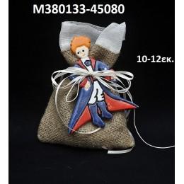 ΜΙΚΡΟΣ ΠΡΙΓΚΗΠΑΣ ΜΠΟΜΠΟΝΙΕΡΑ κεραμικό μαγνητάκι ψυγείου 10-12εκ. χοντρική τιμή Μ380133-45080