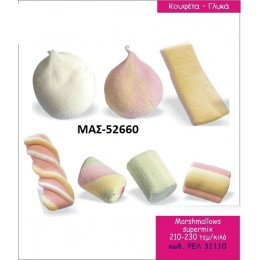 MARSHMALLOWS ΜΑΣΜΕΛΟΣ SUPERMIX σε χοντρική τιμή MAS-52660